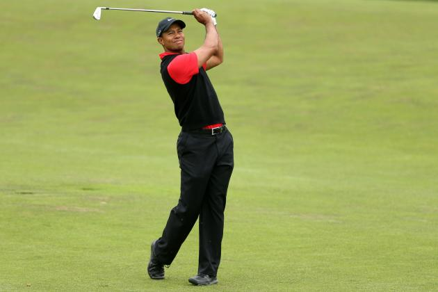 Tiger Woods at AT&T National 2012 Tracker: Day 1 Highlights, Updates & Analysis