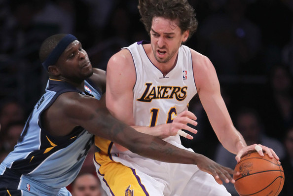 Los Angeles Lakers: Why Pau Gasol Should Be Traded for Grizzlies' Zach Randolph