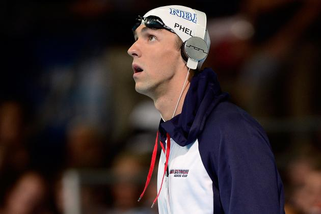 2012 Olympic Swimming Trials: Michael Phelps Faces Fierce Competition