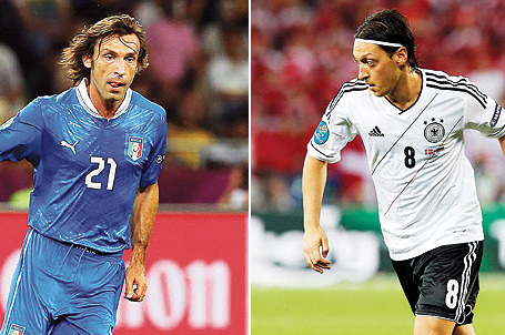 Germany vs. Italy Euro 2012 Preview: Midfield Will Be the Deciding Factor