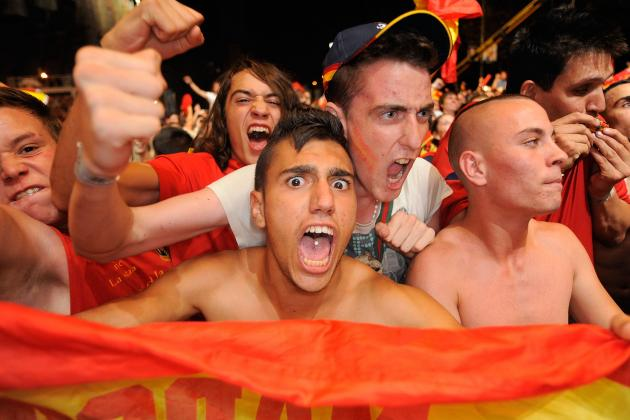 UEFA Fines Russia, Spain for Fans' Abuse at Euro 2012