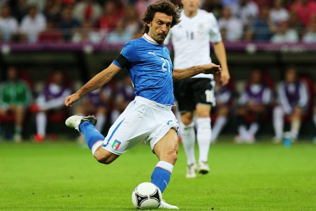 Euro 2012: Why Andrea Pirlo Will Rule the Final Between Spain and Italy
