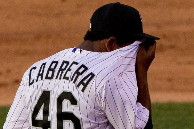 Edwar Cabrera Vows to Learn from His Poor Debut