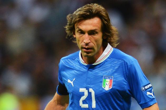 Andrea Pirlo's Brilliance Has Driven Italia to the Finals