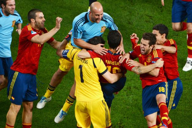 Italy vs. Spain: Why Spain Are Favorites to Win Euro 2012 Final
