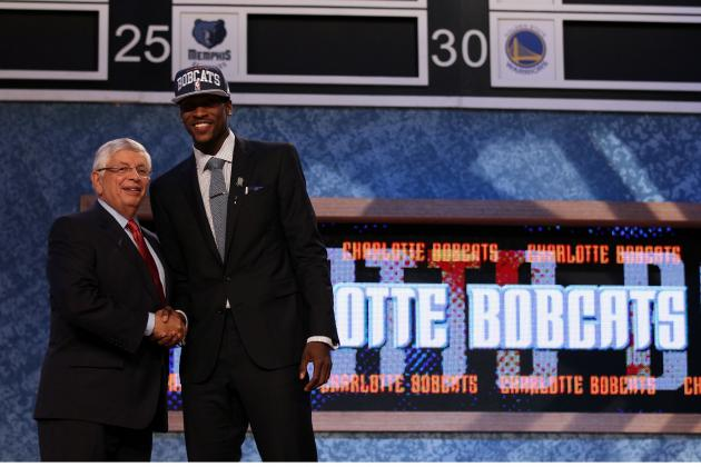 NBA Draft  2012: Michael Kidd-Gilchrist Selected by Charlotte Bobcats
