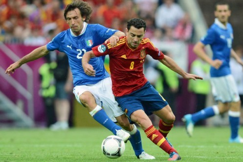 Euro 2012 Debate: Who Is Better, Andrea Pirlo or Xavi?