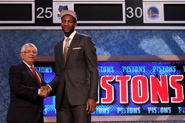 NBA Draft 2012 Grades: Detroit Pistons and Biggest Winners from Lottery