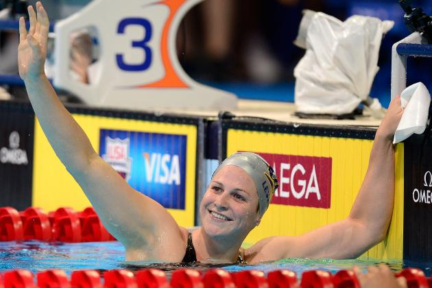 US Olympic Swimming Trials Results: ESPY Finalist Caitlin Leverenz off to London