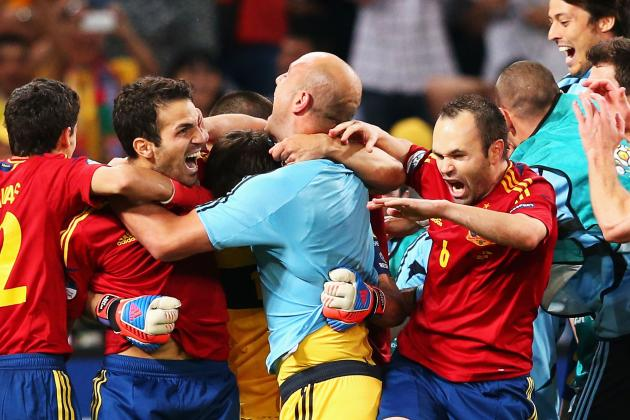 Spain vs Italy Live Stream: Sizzling Players to Watch for in Euro 2012 Final