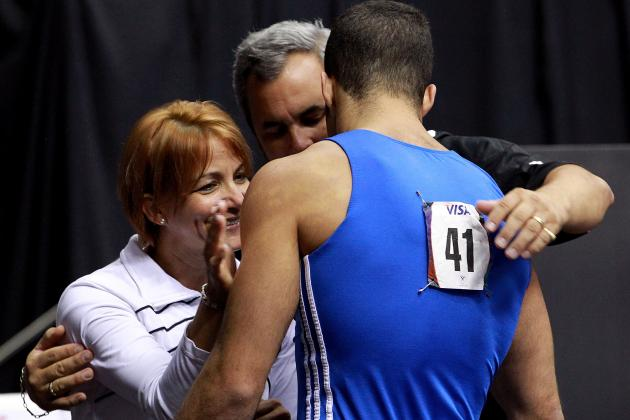 US Olympic Gymnastics Trials: Danell Leyva's Father/Coach Always by His Side