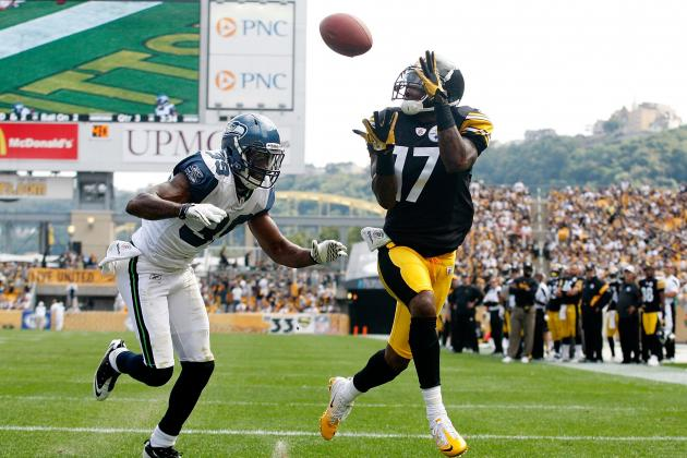 Mike Wallace and Antonio Brown: Examining the Pittsburgh Steelers' Catch Radii