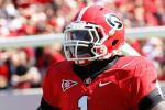 Stud Georgia RB Arrested on Weapons Charges -- Details Here