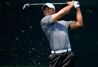 Tiger is T-10 at -1 at AT&T National