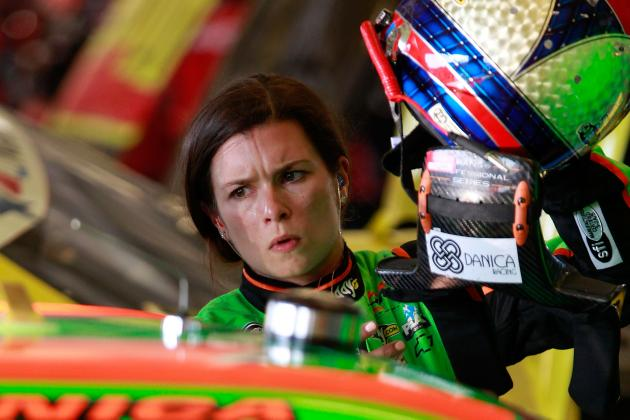 Happy Hour: How Does Danica Patrick's Progress Stack Up Against NASCAR's Best?