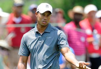 Tiger is Even Par for the AT&T National