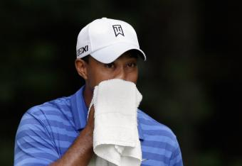 Tiger is heating up at Congressional