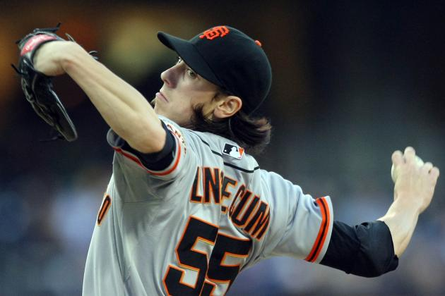 Madison Bumgarner Prods Matt Cain After 1-Hit Gem for San Francisco Giants