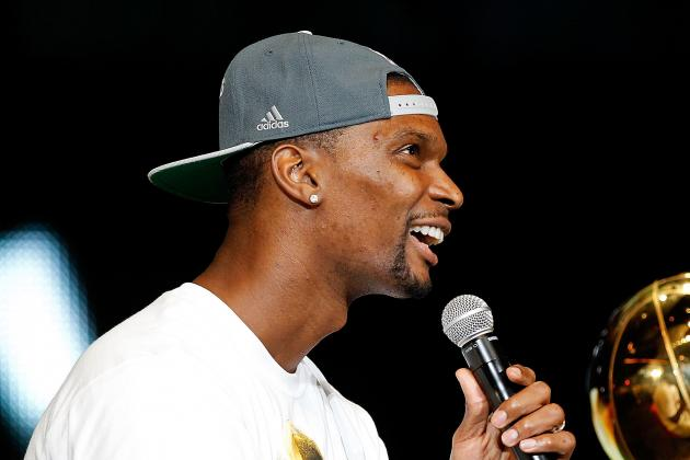 Chris Bosh: After Title, 'We Went to Taco Bell'
