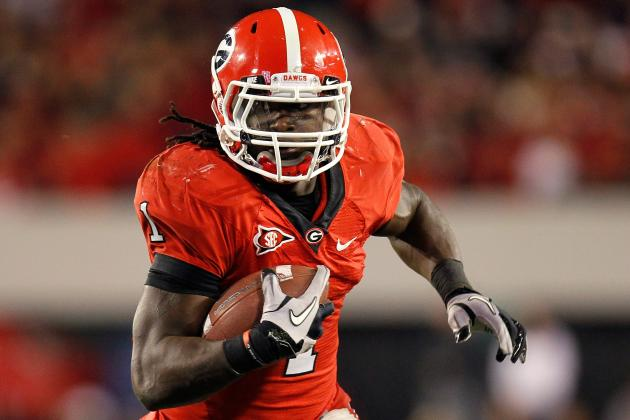 Georgia TB Isaiah Crowell Arrested on Felony Weapons Charges