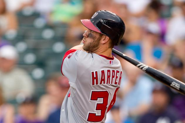 Sorry, Yankees Fans. Bryce Harper Likes D.C. Just Fine