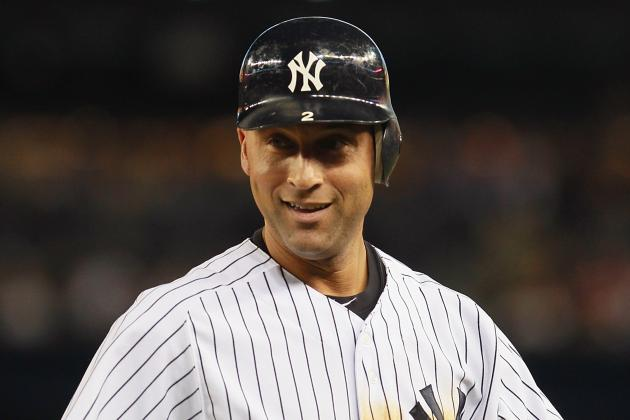 Jeter Ties Ripken for 13th All-Time with Hit No. 3,184