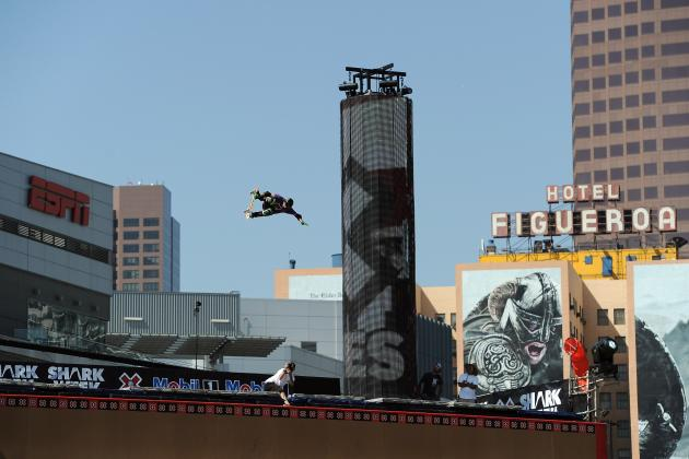 Big Air Competition X Games 2012: Everything You Need to Know About Jagger Eaton