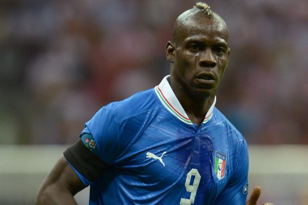 Spain vs. Italy: Mario Balotelli and Most Important Players in Euro 2012 Final
