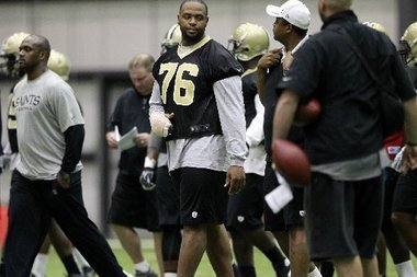 New Orleans Saints Sign Top Pick Akiem Hicks to Four-Year Deal