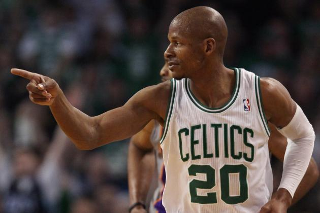 Report: Suns Will Enter the Chase for Free Agent Ray Allen