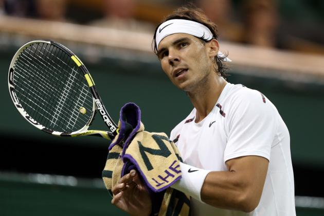 Wimbledon 2012: Rafael Nadal's Loss and Ranking Implications
