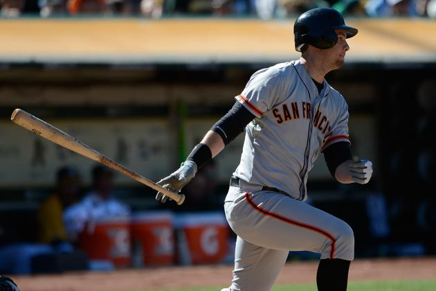 Belt Making Big Strides at the Plate for Giants