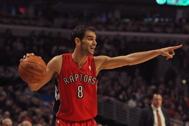 Los Angeles Lakers: Jose Calderon to Lakers Will Make Them Contenders Once More
