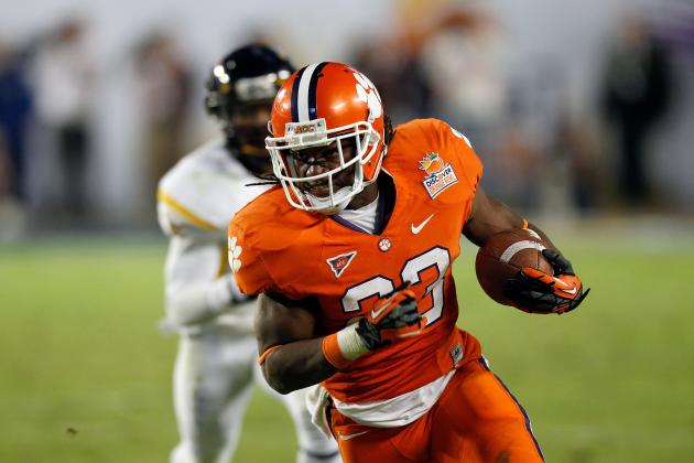 Clemson Football: 2012 Season Could Hinge on Tigers' Running Game