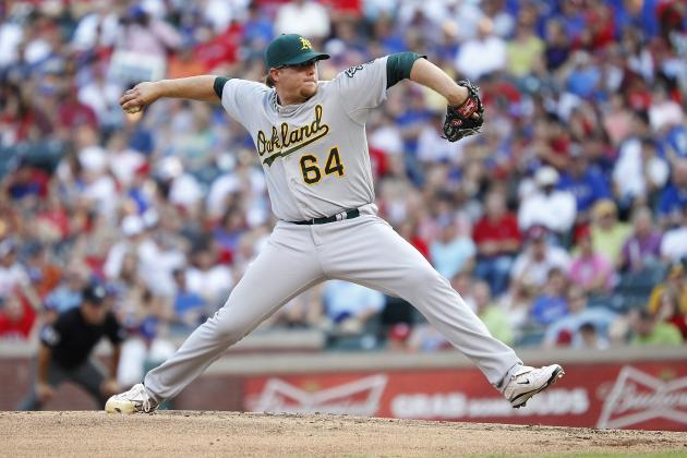Wild Bullpen, Misplayed Fly Ball Doom A's as Texas Rallies for 4-3 Victory