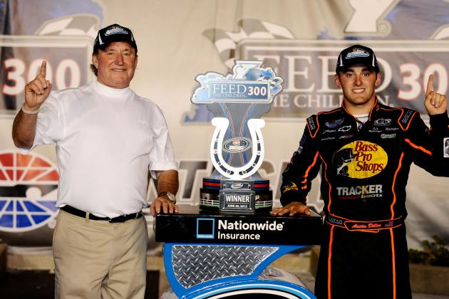 Austin Dillon Dominates at Kentucky; Wins 1st Nationwide Race