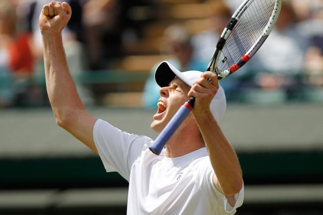 Wimbledon 2012 Results: Sam Querrey Won't Be Able to Continue Day 5 Upsets