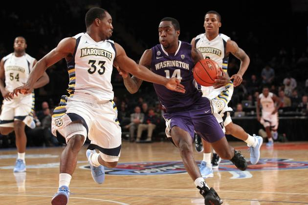 NBA Draft 2012: Can Tony Wroten Jr. Replace O.J. Mayo's Scoring in 2012-13?