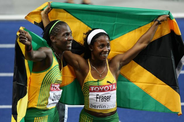 Olympic Track Trials 2012: Jamaican Shelly Ann Fraser-Pryce Blasts 100M in 10.7