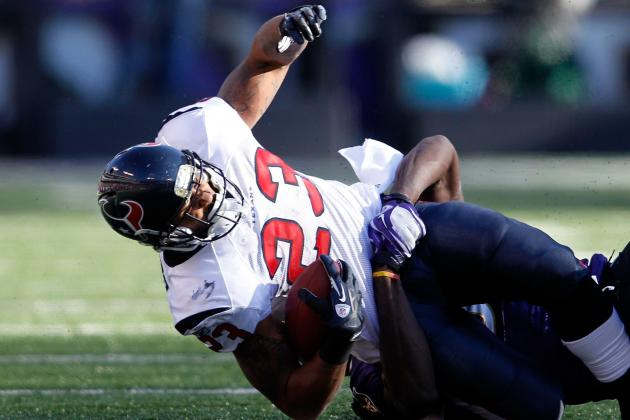 NFL Fantasy 2012: Why Ray Rice, LeSean McCoy, Arian Foster Could Disappoint You