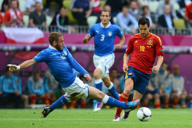 Spain vs. Italy: Plotting Both Teams' Road to the Euro 2012 Final