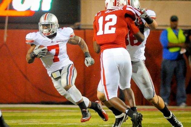 Ohio State Breaking News: Starting RB Jordan Hall Sidelined 10 Weeks