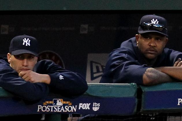 CC Sabathia, Andy Pettite Latest Victims of Yankees' Injury Bug