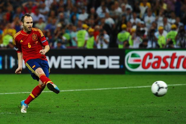 Spain vs. Italy: Why Andres Iniesta Is Key to Spanish Victory in Euro 2012 Final