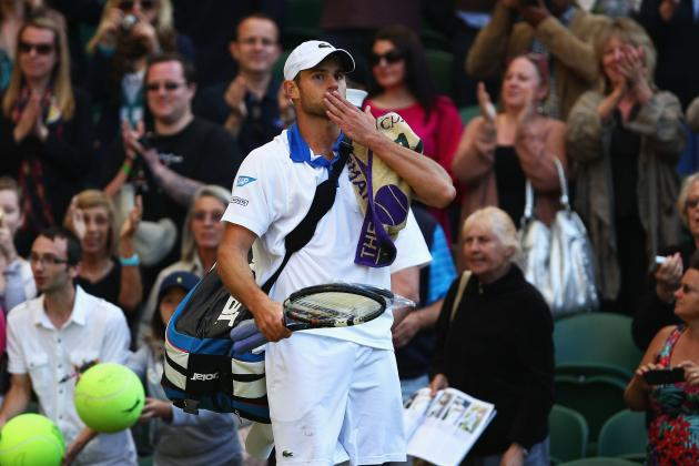 Andy Roddick: Wimbledon Elimination Is Epitome of Star's Dwindling Career