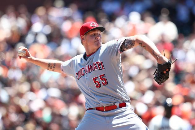 San Francisco Giants: Mat Latos Has the Giants Seeing Red, Again