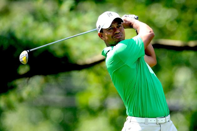 AT&T National 2012: Tiger Woods Closes in on Lead at Congressional