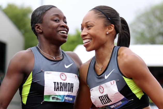US Olympic Track Trials 2012: Allyson Felix Should Give Up 100 Spot After Tie