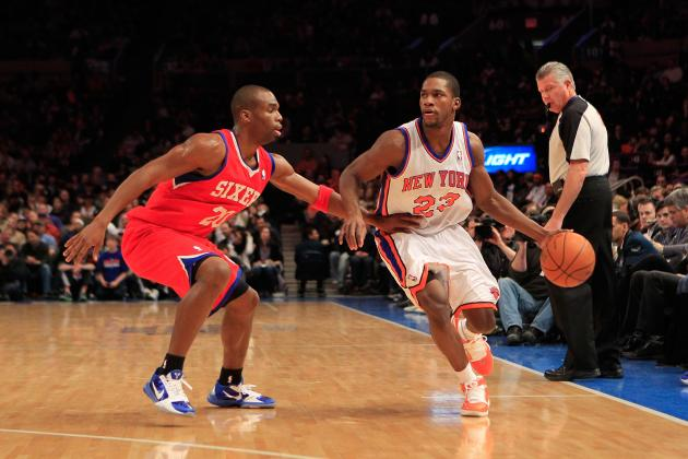 New York Knicks: Why Toney Douglas Should Be Given Another Chance in 2012-13