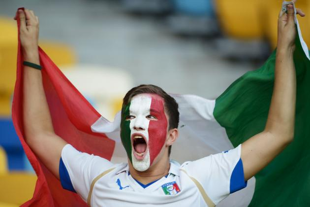 Euro 2012 Final: A Gameday Report from Rome, Italy